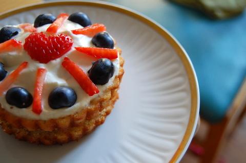 Yogurtblueberrystrawberrybirthdaycakebabysfirstbirthday