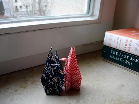 Origamibookswindowsill