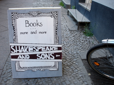 Shakespearesonsenglishbookshopberlin
