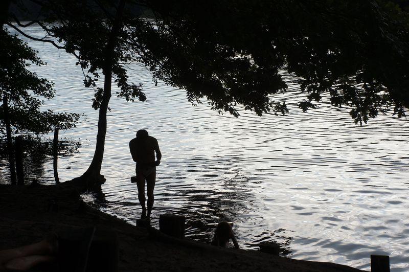 Berlin-lake-man-child