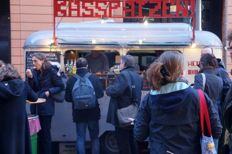 Cheese-spatzle-street-food