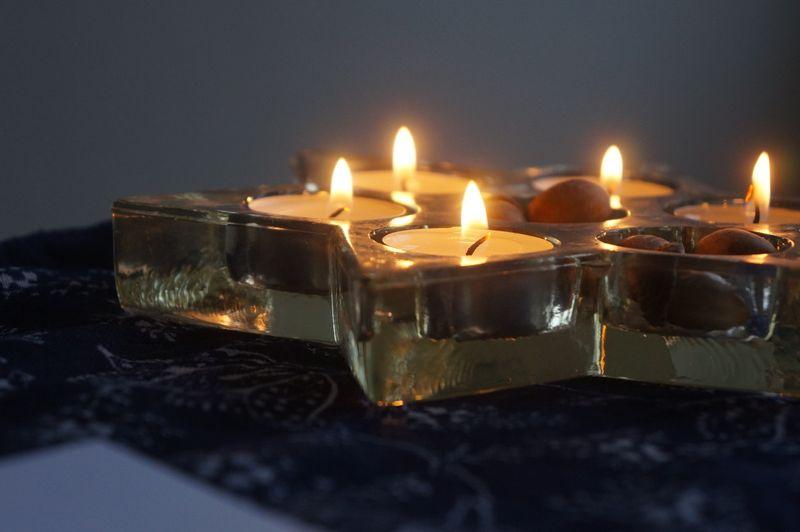 Candles-indigo