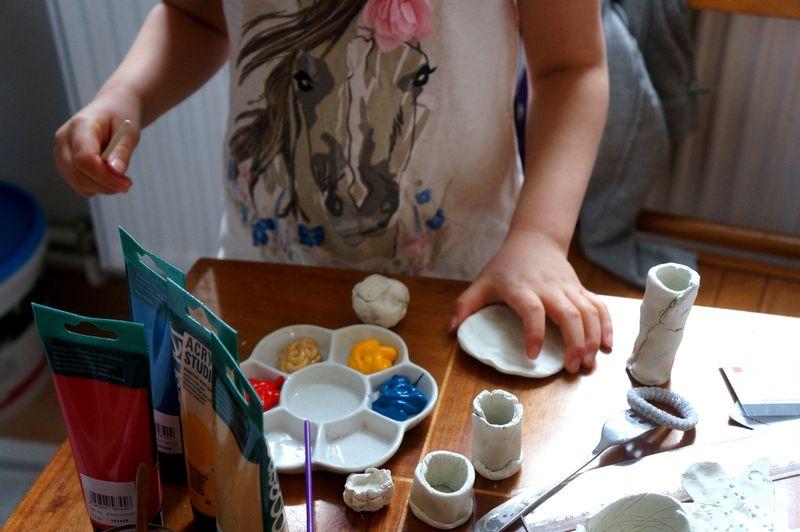 Painting-plasticine