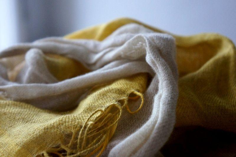 Linen-scarf