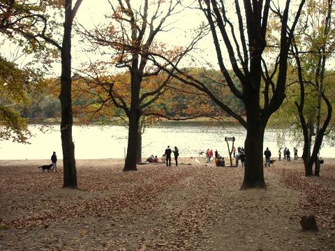 Autumnlakesundayafternoonberlin